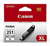 Canon CLI-251XL Gray Ink Tank, Compatible to MG7520, MG7120, iP8720 and iX6820