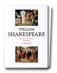 Comédies : Edition bilingue - 2 volumes par William Shakespeare