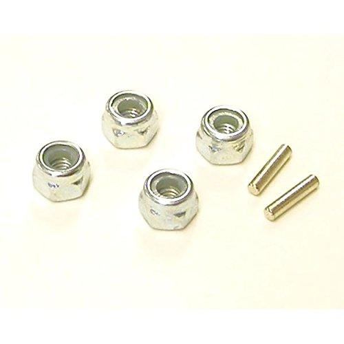 Losi Wheel Nuts & Drive Pins: Mini-T LOSB1045 -