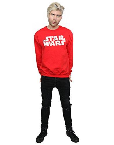Christmas De Wars Hombre Camisa Rojo Entrenamiento Star Logo 7qETwU