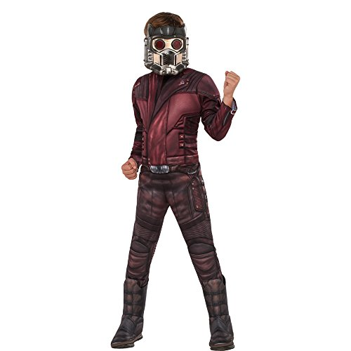 Guardians of the Galaxy Vol. 2 Children's Deluxe Muscle Chest Star-Lord Costume