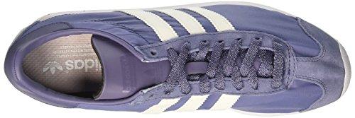 adidas Country Og, Zapatillas de Estar por Casa para Mujer Morado (Super Purple/off White/ftwr White)