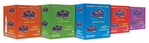 Energy Flavor Gel Mix (All Sport Powder Hydration Sticks | Zero Calorie | Performance Electrolyte Drink Mix | Sugar Free | 2x Potassium | Variety Pack | 3 grams (500 Count))