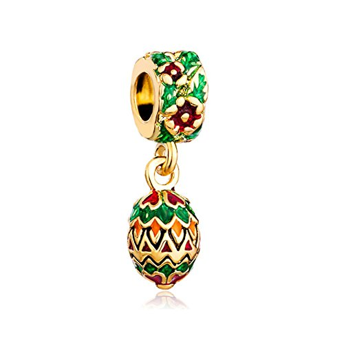 CharmsStory Colorful Faberge Charms Bracelets