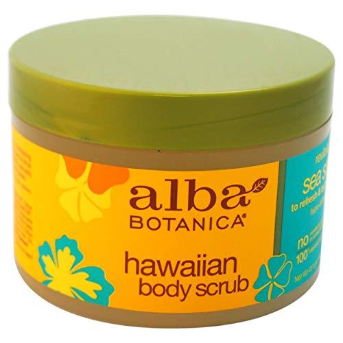 Hawaiian Sea Salt Body Scrub By Alba Botanica for Unisex -