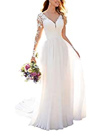 Wedding Dresses for Bride 2019 with Lace Appliques