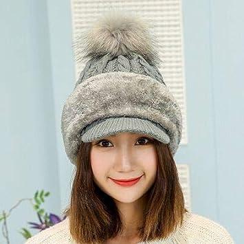 ee57b41d922d5 HOKUGA  Knitted Hat Winter Scarf Women Skullies Beanies Winter Hats For  Women Men Warm Mask