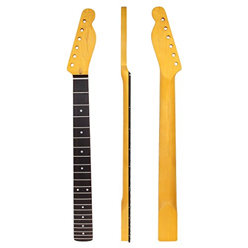 22 Frets Maple Electric Guitar Neck Rosewood Fretboard Parts ()