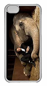 iPhone 5C Case, Personalized Custom Water For Elephants for iPhone 5C PC Clear Case