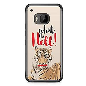 Tiger HTC One M9 Transparent Edge Case - What the Hell Collection