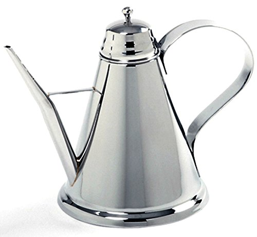 NEW NORPRO 2 CUP OLIVE OIL CAN STAINLESS STEEL 16 OZ CRUET LIGHT ODOR PROTECTION ()