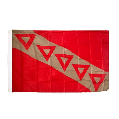 Fraternity Flag - Tau Kappa Epsilon TKE Chapter Fraternity Flag 3 x 5 Polyester Use as a Banner Sign Decor TKE