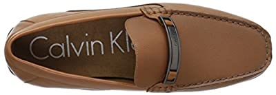 Calvin Klein Men's Marko Smooth/Texture Driving Style Loafer