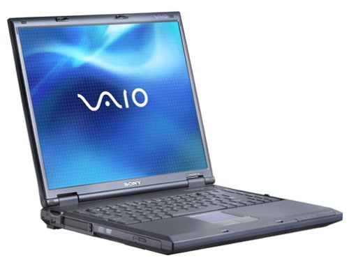 Sony VAIO PCG-GRZ610 Laptop (2.0-GHz Pentium 4, 256 MB RAM, 40 GB Hard Drive)