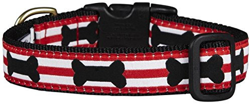 Up Country Got Bones? Dog Collar - Large