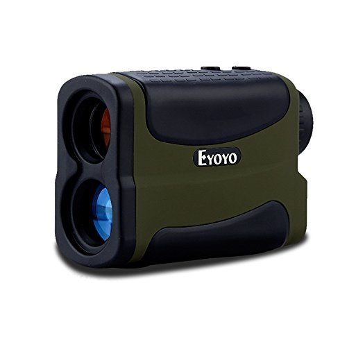 Eyoyo Golf Rangefinder 5-1000 Yard - Waterproof 6X Precision Distance Speed Range finder Binoculars Measurer for Tour Hunting