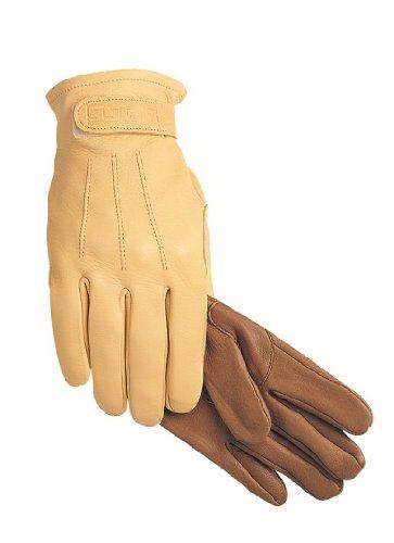 SSG Trail/Roper Riding Gloves 6 Natural