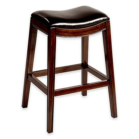 Amazon Com Kenton Wood 30 Inch Backless Bar Stool In