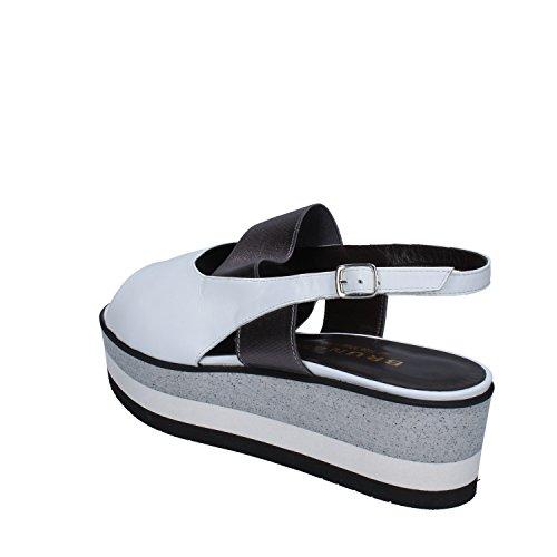 BRUNATE Sandalias de Vestir de Piel Para Mujer Bianco