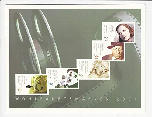Germany Postage Stamp, B894 Booklet Mint NH, 2001 Marilyn Monroe, DKZ