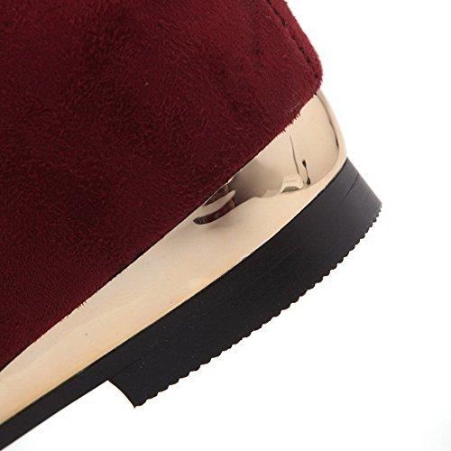 di tacco alla Agoolar cinturino Baja con caviglia medio Caña Stivaletti BwxUqX50