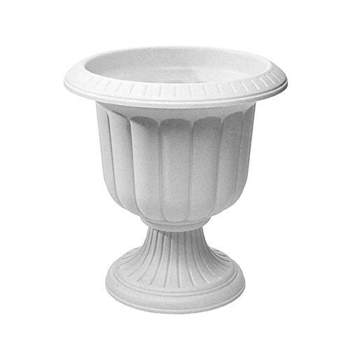 Classic Urn Planter, Stone, 19-Inch (Outdoor Stone Planters)