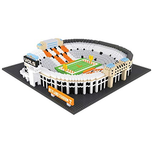 FOCO NCAA Tennessee Volunteers 3D Brxlz Stadium Building Block Set3D Brxlz Stadium Building Block Set, Team Color, One Size