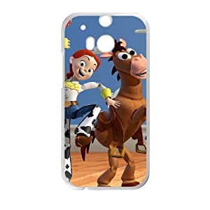 HTC One M8 Cell Phone Case White Disneys Toy Story nowy