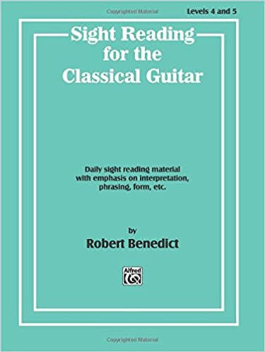 classical guitar sight reading books