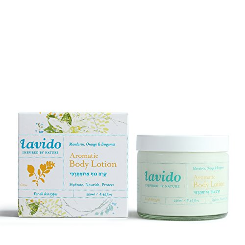 Aromatic Body Care Water - Lavido Natural Mandarin, Orange, and Bergamot Aromatic Body Lotion