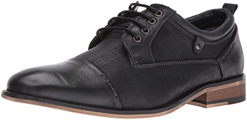Steve Madden Men's Joffrey Oxford, Black Leather, 12 M US