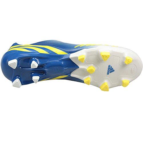 adidas, Predator LZ TRX FG, Herrenstiefel, weiß/gelb/blau