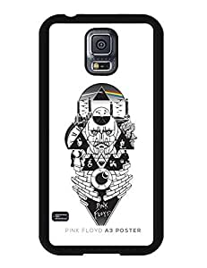 Discount 4736802M296611666 Classic Pink Floyd Logo Picture Galaxy S5 Anti-Scratch Case Cover for Samsung Galaxy S5 I9600