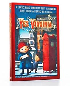 Yes Virginia Animated DVD featuring the voices of Neil Patrick Harris & Jennifer Love Hewitt