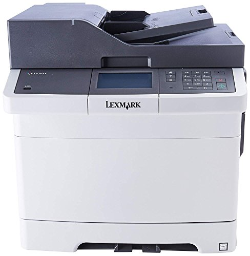 cheap lexmark cx410e color all in one laser printer with scan copy network ready and. Black Bedroom Furniture Sets. Home Design Ideas