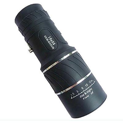 16 * 52 Vert Film Haute Puissance Ultra Claire Double Tonne Télescope Télescopique Angle Optique Prisme Lumière Vision Nocturne