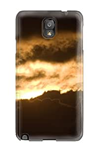 New Fashionable ZippyDoritEduard CMlikGw6599oVaxd Cover Case Specially Made For Galaxy Note 3(sun Set Burning Clouds Earth Sunrise Nature Sunrise)