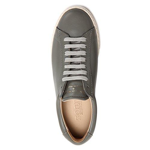 Zespa Mens Zsp4 Kalfsleren Sneakers Zsp4.npa Beton Sz 38