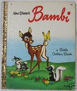 Walt Disney S Bambi Little Golden Book Bob Adapter Grant Walt