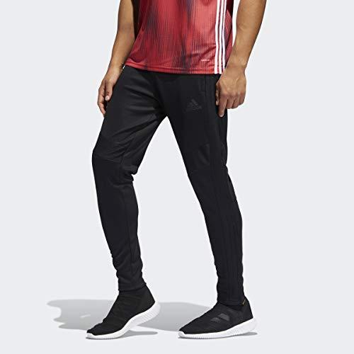 adidas Mens Tiro 19 Training Soccer Pants, Tiro 19 Pants, Black/Black, Large