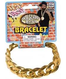 Gold Chain Link Bracelet (Costume Bracelet)