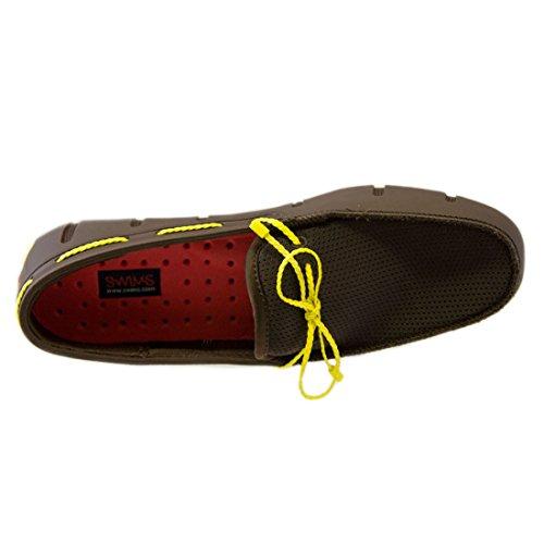 Zapatos Para Hombre Swims Trenzado De Encaje Loafer Water Shoe Brown $ 159 Brown