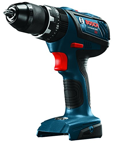 "Bosch HDS181AB Bare-Tool 18V Lithium-Ion 1/2"" Compact Tough Hammer Drill/Driver"
