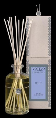 Votivo Aromatic Reed Diffuser No 71 Smoke on the Water, 2 Pack by Votivo