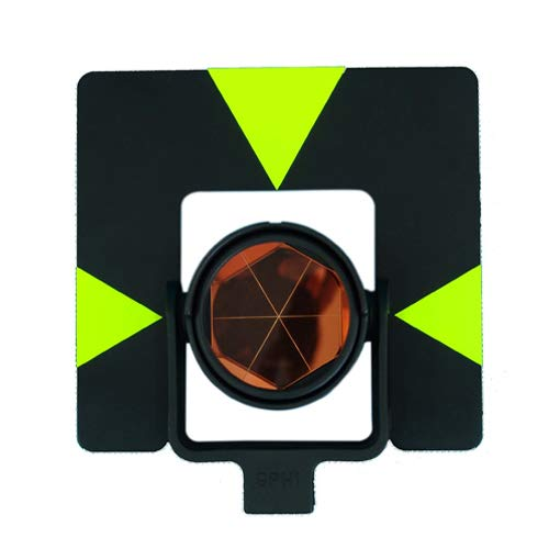 GEOLENI All-Metal Single Tilt Prism Z-GPH1 With Case for Land Surveying Prism for Total Stations