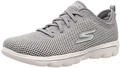Skechers Womens 15725 Go Walk Evolution Ultra Grey Size: 5