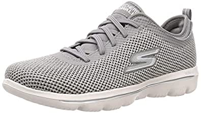 Skechers Womens 15725 Go Walk Evolution Ultra Grey Size: 5