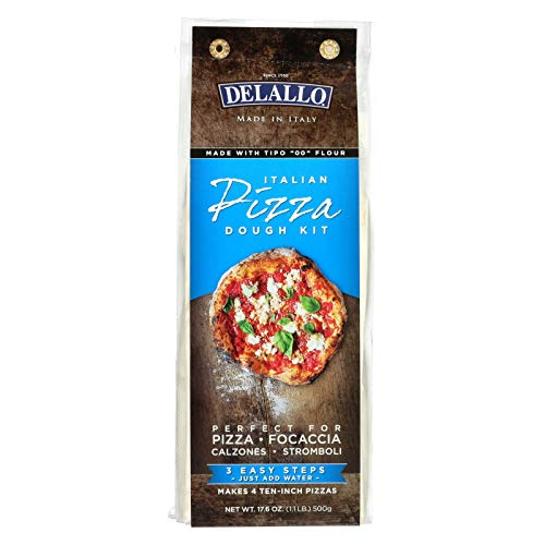 - Delallo Pizza Dough Kit, 17.6 Ounce -- 10 per case.
