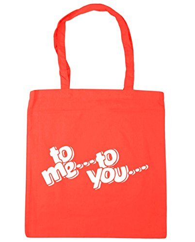 HippoWarehouse 42cm you Shopping Tote Beach me Coral to Gym Bag x38cm to 10 litres rwqT1r