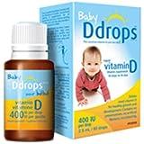 Ddrops Baby 400 IU Vitamin D3滴剂 2个